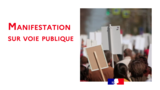 Déclaration de manifestations revendicatives