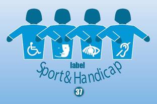 Le label Sport et Handicap 37